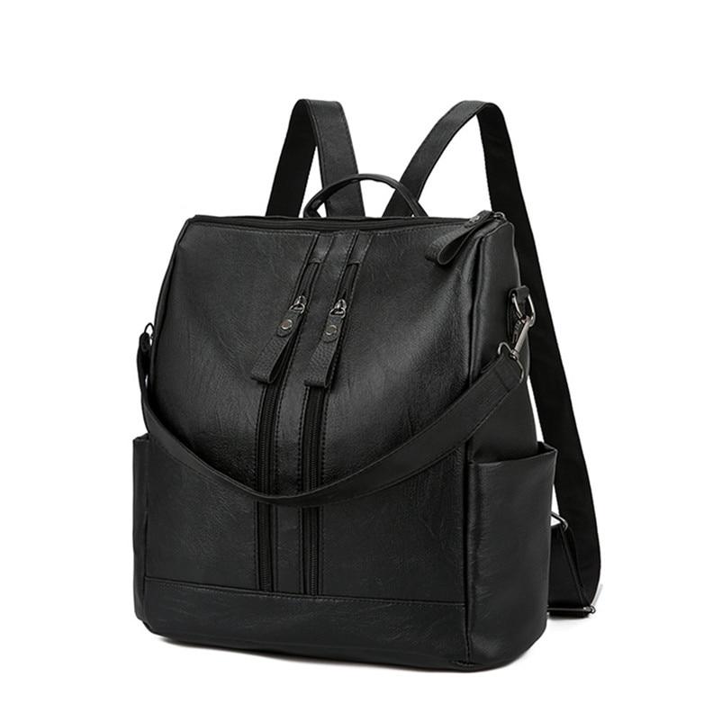 e60393e51d5d Для женщин сумка Для женщин Рюкзаки мода молния высокой емкости школьная  сумка рюкзак Универсальный женский Mochila
