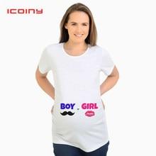 ddc52b09c De maternidad verano Camisetas blanco las mujeres maternidad ropa Tops  embarazo divertido T camisas para embarazadas