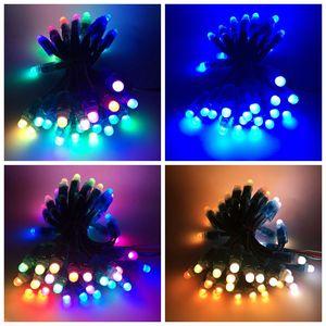 Image 5 - 100 ピース/ロット 12 ミリメートル WS2811 2811 IC RGB LED ピクセルモジュールストリングライト IP68 5V 祝日/クリスマス/ フェスティバル