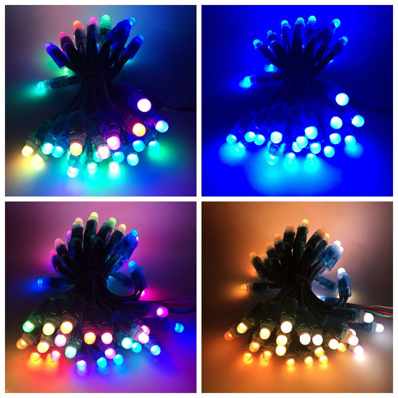 Image 5 - 100Pcs/lot 12mm WS2811 2811 IC RGB LED Pixels Module String Light IP68 5V Holidays/Christmas/ Festival12mm ws2811led pixel moduleled pixel -