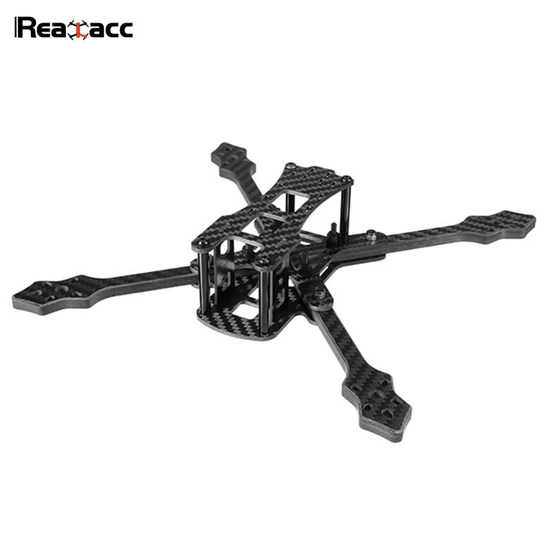 купить Original Realacc Furious 220mm Carbon Fiber 6mm Arm X Structure Frame Kit For RC Models Multicopter Motor Flight Controller ESC онлайн