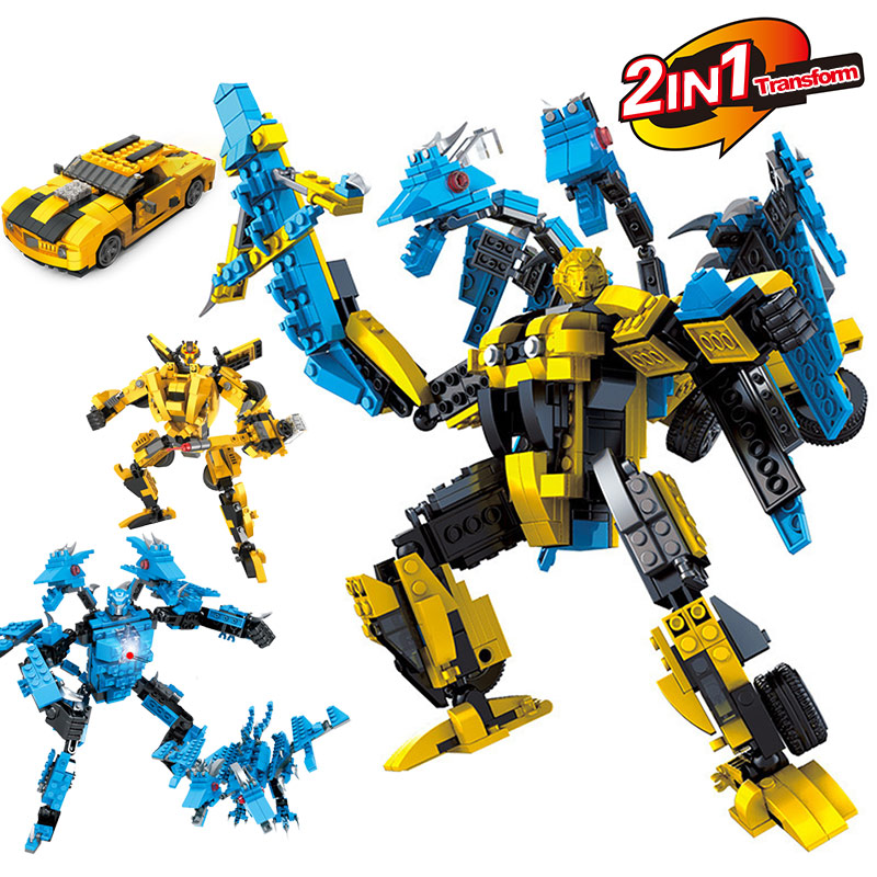LegoINGLYS Transformation Robot Human Alliance Action Figures Building Blocks Toys for classic toys anime figure cartoon boy toy