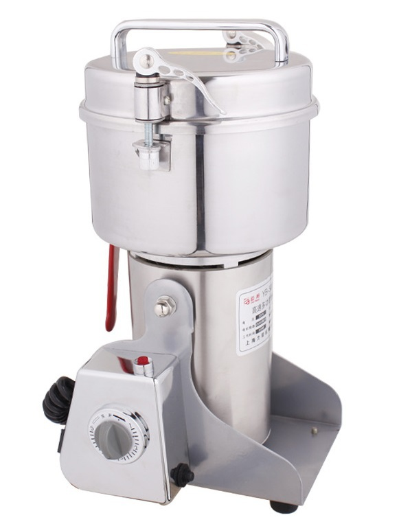 AC110V New 2000g Swing Full Stainless Herb Grinder/ Food Grinding Machine/Coffe grinder,Electric flour mill,grinding miller great value food grinder stainless steel swing milling machine small powder grinding machine home commercial electric flour mill