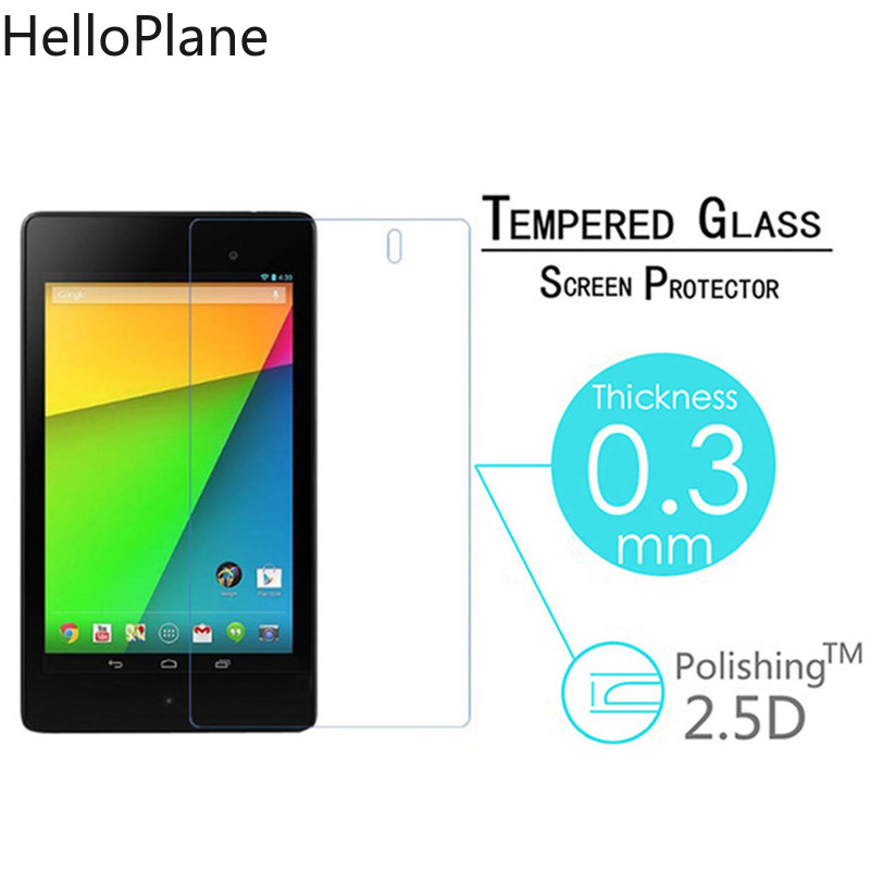 Tempered Glass Screen Protector For ASUS Google Nexus 7 1st 2nd 2 Gen I II One Two 2012 2013 7