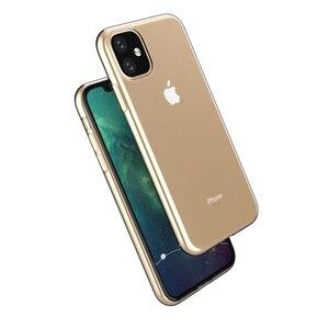 Image 4 - 100Pcs שקוף סיליקון TPU רך כיסוי עבור iPhone 11 12 מקרה עבור iPhone 11 פרו מקרה עבור iPhone 11 פרו מקסימום Ultra דק מקרה