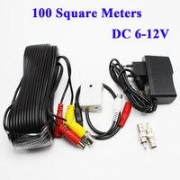 Аудио Pick Up Мини CCTV Микрофон для камеры безопасности RCA аудио Выход DC 12 В Мощность набор кабеля для видеонаблюдения для безопасности DVR Систем...