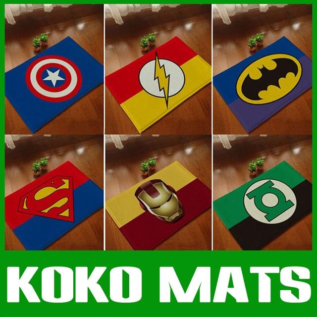 KOKO Door Mat Rug Carpet Anti Slip For Bedroom Hallway Floor With Captain  America/