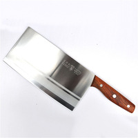 Liang Da Full Tang Chef Knife Handmade Forged High carbon Clad Steel Kitchen Knive Cleaver Filleting Slicing Broad Butcher knife