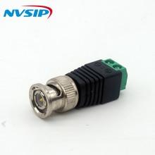 10 sztuk/partia 2.1x5.5mm DC wtyczka zasilania złącze bnc DC adapter żeński kamera monitorująca zasilanie dla kamera ip cctv