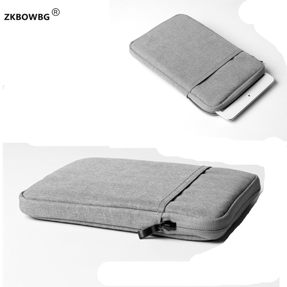 Casual 10 inch Sleeve Pouch Case for <font><b>BOBARRY</b></font> <font><b>T109</b></font> /T900/K107SE/S108/T100/ Octa Core 3G 4G <font><b>10.1</b></font> inch Tablet Universal Bags image