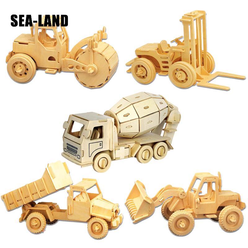 Игрушки для детей 3D-головоломка Diy - Игры и головоломки