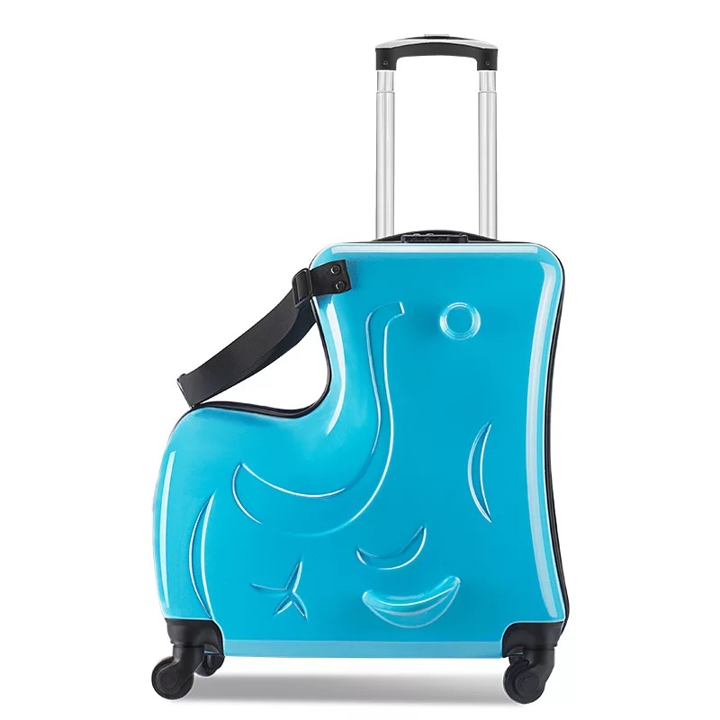 Fashion Cute Kids Trolley Suitcases Wheel Children Carry On Trunk Spinner 20inch Rolling Luggage Travel Bag Student Lovely bag