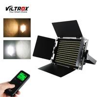 Viltrox VL S50T Studio Video Light Camera SMD LED Lamp 3300~5600k Slim Metal Bi color Dimmable & Wireless remote control CRI 95+