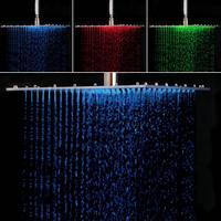 Hello современный Для ванной смеситель для душа Ванная комната Ванна Насадки для душа Нержавеющаясталь 16 Дождь Насадки для душа Осадки смес