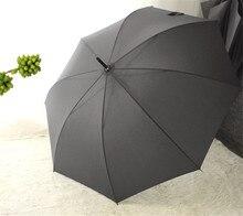Semi Automatic Japanese Style Wooden Handle Large Umbrella