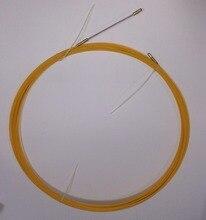 цена на fiberglass push pull rod 3mm fiberglass fish tape cable puller wire puller cable layting tools 100' 30meter