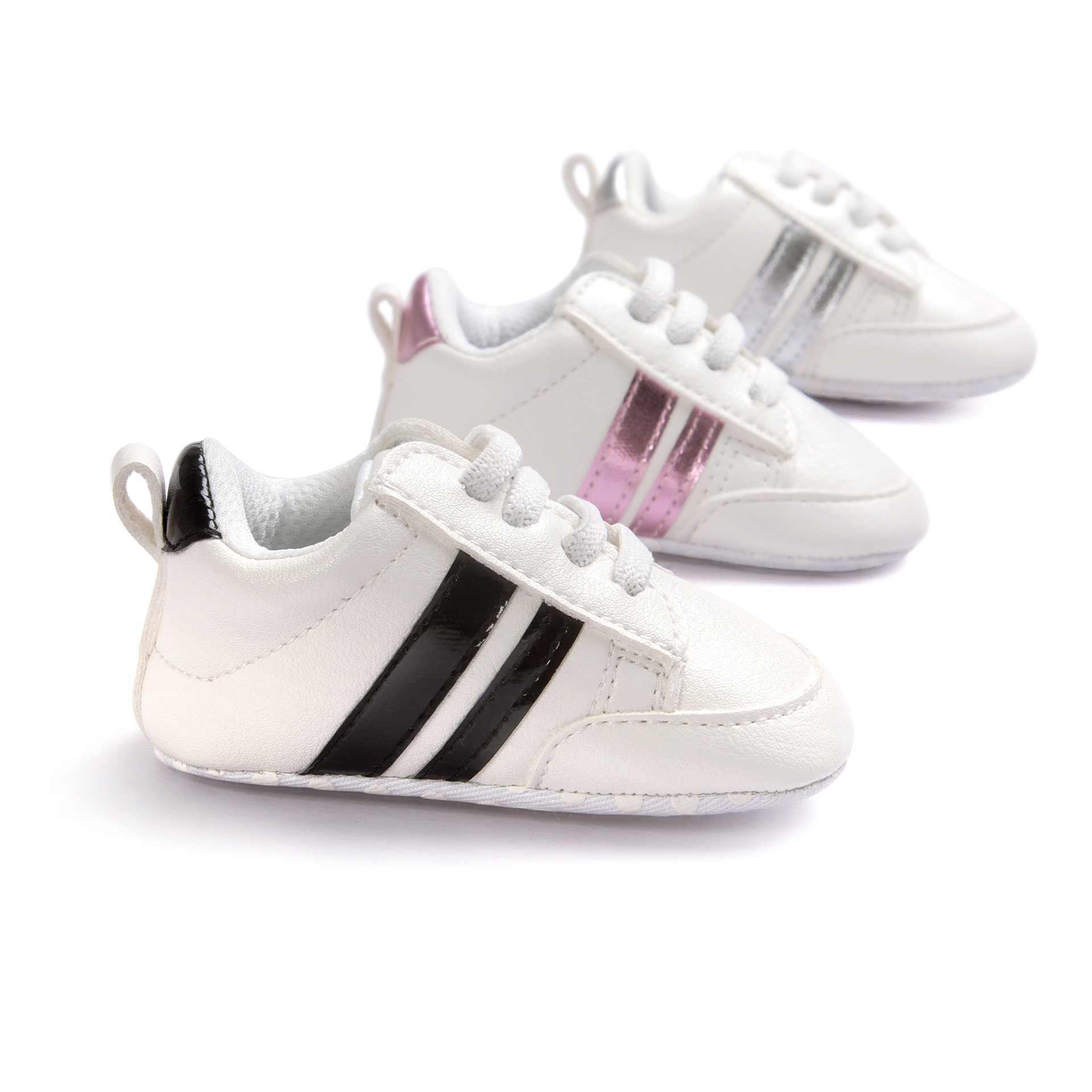 ROMIRUS Soft Bottom Mode Sneakers Baby Pojkar Girls Första Walkers Baby Inomhus Non-Slop Toddler Skor 8 Nya Färger