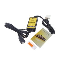 5pcs Car USB MP3 Player Interface AUX IN Adapter For Mazda 3/CX7/323/MX5 CX 7