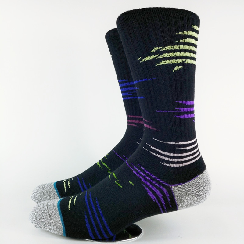Mens Neon Yuppie Skate Dress Socks USA Size 6-8.5, 9-12 ,Euro Size 39-41.5,42-45 (Thin)