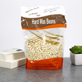 Pro 300g/Pack Paper Depilatory Wax Hair Removal Solid/Hard Wax Beans Milk Flavor for Men/Women Body Hair Epilation