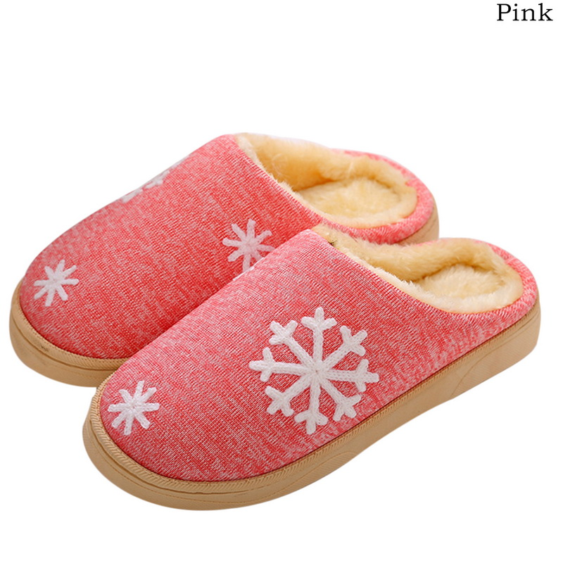 Oeak Cotton Slippers Shoes Home New Small Fresh No with Couple Warm-Month-Bag
