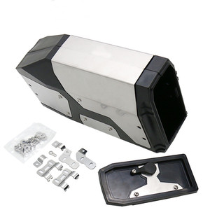 Image 2 - For BMW R1200GS LC Adventure 2013 2017 R1200GS Decorative Aluminum Box Toolbox Suitable for BMW side bracket 4.2 Liters