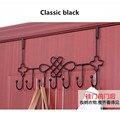 Engrosamiento baño de hierro pilones evitar perforación puertas de los gabinetes de estilo espalda Coathook suministros de cocina Dormitorio multiuso garabato
