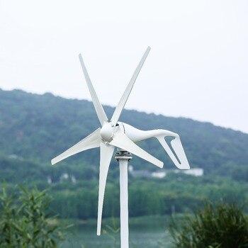 2019 generador de turbina de viento tres o cinco viento hojas opción 600 W controlador de viento regalo ajuste para el hogar o Camping