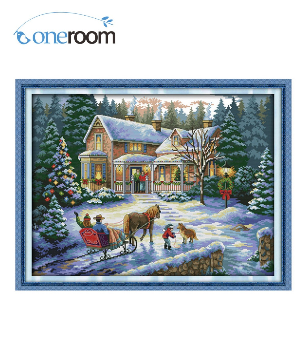 5th Return From Christmas Counted Cross Stitch 11ct 14ct R33gtraudiowiringdiagram R33 Gtr Project Animal Dim Landscape Kits Embroidery Needlework