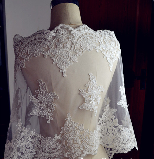 Buy bridal lace fabric wedding dress for Wedding dress fabric stores