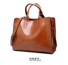 Luxury Leather Handbags Big Women PU Bag Quality Casual Female Bags Trunk Tote Spanish Brand Shoulder Bag Ladies Large Bolsos
