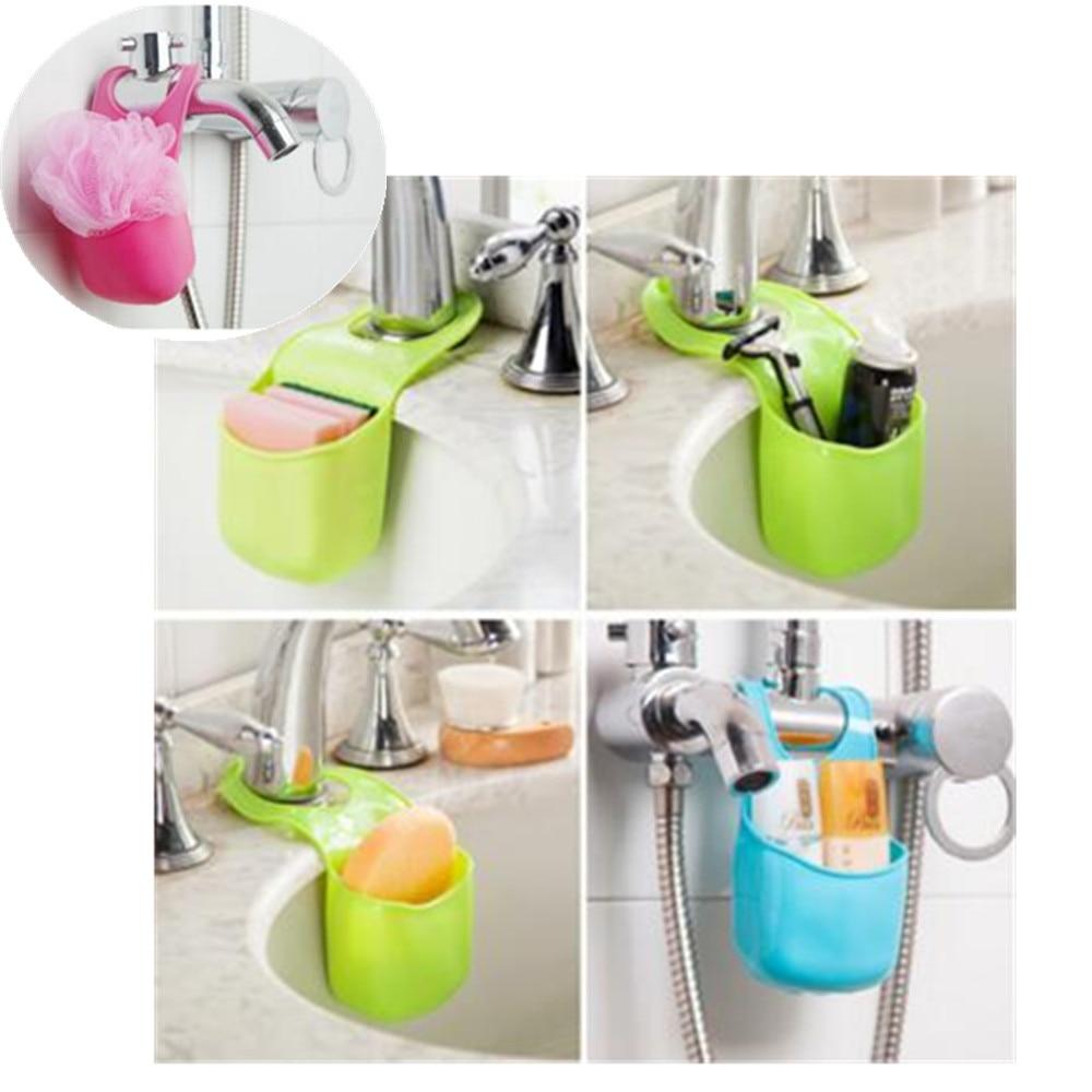 Online Shop 19.5x8.5cm Pvc Mini Bathroom Hasp Hook Shelves Soap Holder  Kitchen Dish Cloth Sponge Holder Storage   Aliexpress Mobile