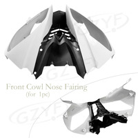 For Yamaha 2008 2009 2010 YZF R6 ABS Upper Front Fairing Cowl Nose Injection Mold