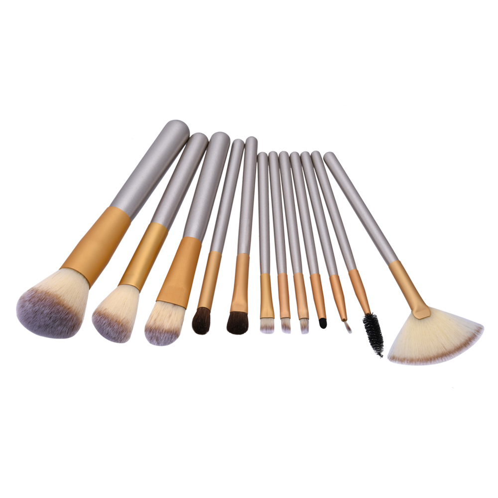 NULALA 1Set Professional Makeup Brush Set Foundation Powder Make Up Brushes Eyeliner Beauty Tool Kits Pinceis De Maquiagem #1503 jessup 5pcs black gold makeup brushes sets high quality beauty kits kabuki foundation powder blush make up brush cosmetics tool