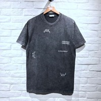 A Cold Wall T Shirt Men Cotton Vintage Top Quality Short Sleeve Tshirt English Hip Hop ACW T Shirt A Cold Wall