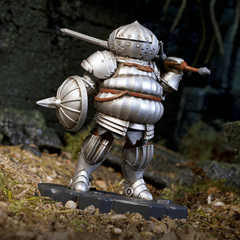 Anime Game Dark Souls Heroes of Lordran Siegmeyer Black Faraam Figurine PVC Statue Figure Collectible Model Toy