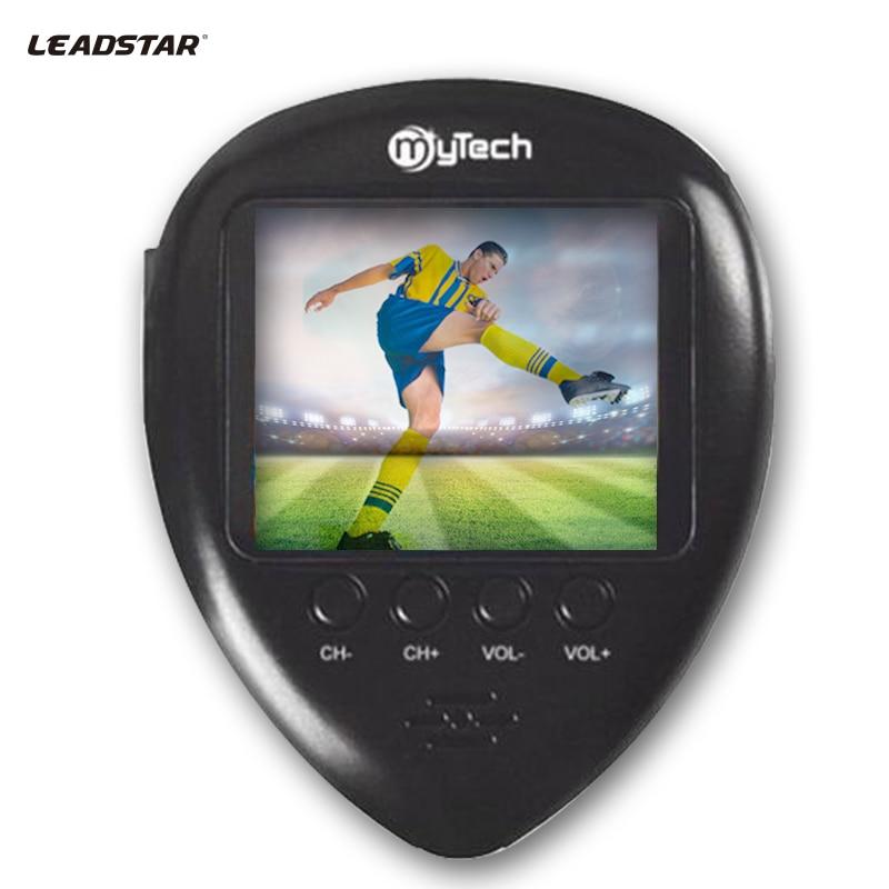 1,8 zoll Smart Outdoor Mini-tasche FM Radio mit Analog-TV, mini Antenne, Digitaluhr, Analog TV System PAL/NTSC/SECAM