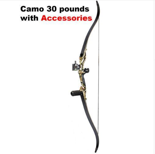 Details about  /Traditional Hand made Archery Recurve  hunting Bow outdoor sport 30-50lbs  bow