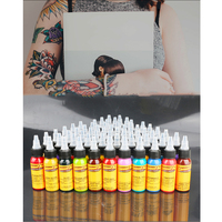 16Pcs Body Painting Tattoo Ink Set Permanent Makeup Coloring pigment Eyebrows Eyeliner Tattoo Paint Body Makeup Ink Tools