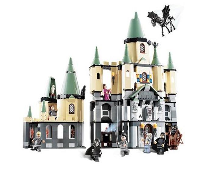 LEPIN 16029  Harry Potter Magic Hogwart's Castle Figure Blocks Compatible Legoe 5378 Construction Building Toys For Children decool 3117 city creator 3 in 1 vacation getaways model building blocks enlighten diy figure toys for children compatible legoe