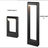 100-240Vac Avrupa tarzı IP54 6 W led bahçe ışık, çim ışık, peyzaj lamba açık için 300/650mm yükseklik 160 derece dönebilen