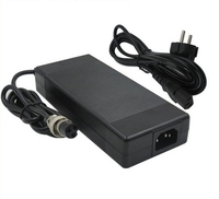67.2V2A 60V 2A li ion battery charger for Wheelbarrow Electric self balancing unicycle scooter 3 Prong Inline Connector