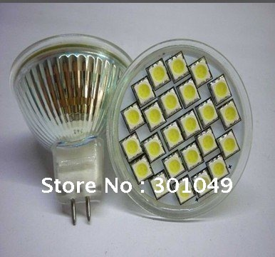 free shipping+MR16  5050 24 led spot lighting+smd led