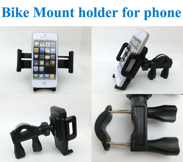 High quality Portable Bicycle Bike Mount holder stand for Galaxy s4 i9500 (All the mobile phones)