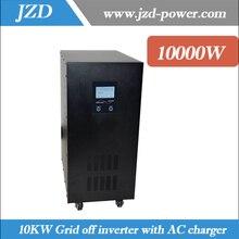 Чистая синусоида 10 кВт/10000 Вт Сетка от инвертора 20 кВт перенапряжения питания постоянного тока в переменный преобразователь с функцией UPS с зарядным устройством переменного тока