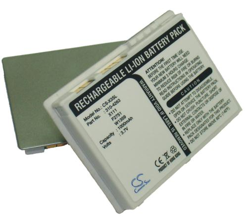 Axim X3 CS-X3SL Battery 1000mAh compatible with Axim X30 Axim X3i ...