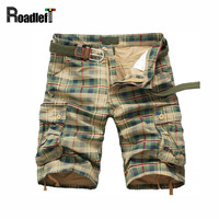 Male Cotton Military Army Style Bermuda Board Beach Shorts Mens Camouflage Swat Cargo Shorts Men Casual