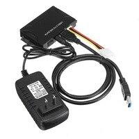 US Plug USB 3.0 to IDE SATA Converter External Hard Drive Adapter Kit 2.5/3.5 Cable Multifunctional Hard Disk Adapter