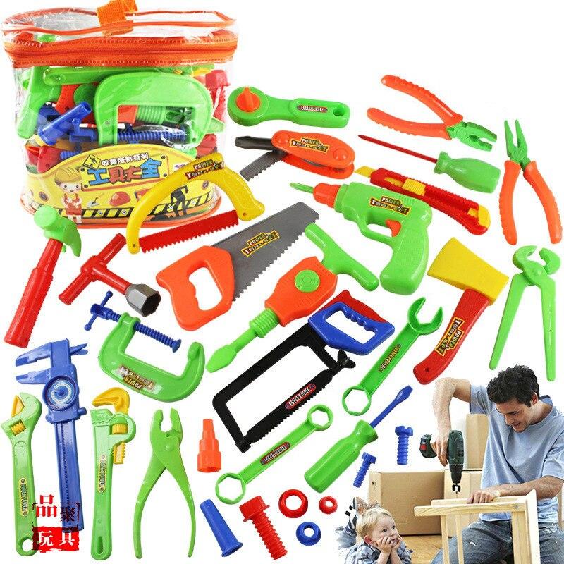 Speelhuis Speelgoed Jongen Reparatie Reparatie Tool Set Puzzel Diy Demontage Speelgoed Draagbare Tool Tafel Kinderen Educatief Speelgoed Uitstekende (In) Kwaliteit