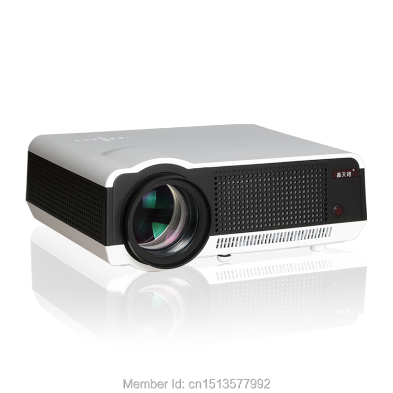 5500 Lumens Smart Lcd Tv Led Projector Full Hd Support: 5500 Lumens 1280*800 3D Projector Proyector LCD LED Home